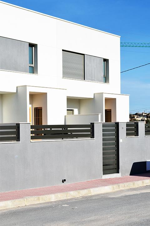 7 viviendas adosadas